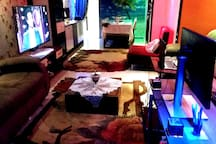 * Work Space   * 25 Megabyte Wifi the most high speed ever in Egypt  * Modern 3D Carpet