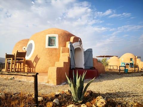 Lekechdômes,Magic experience2, swimmingpool,desert