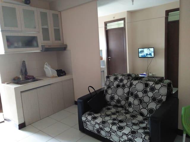 apartemen nyaman dekat carrefour,rs.siloam,