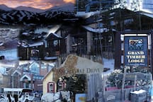 Collage of GTL and the Town