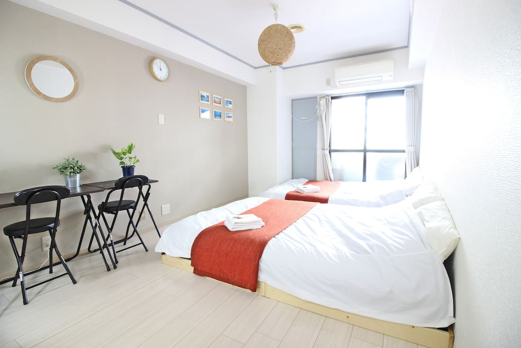 The relaxing room in Osaka central