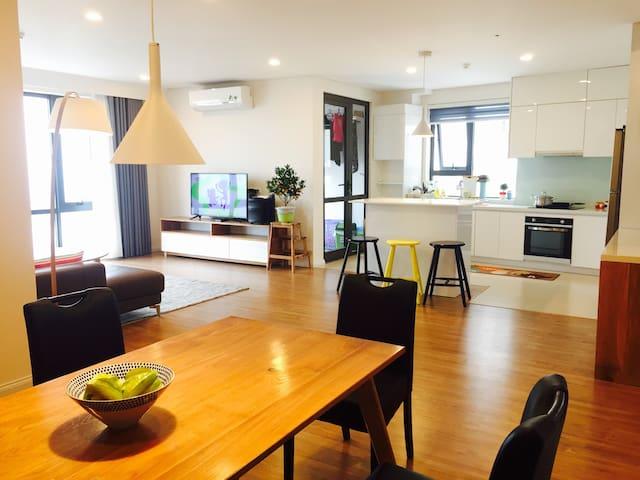 Charming Riverview Apartment - 3brs - Hà Nội - Appartement