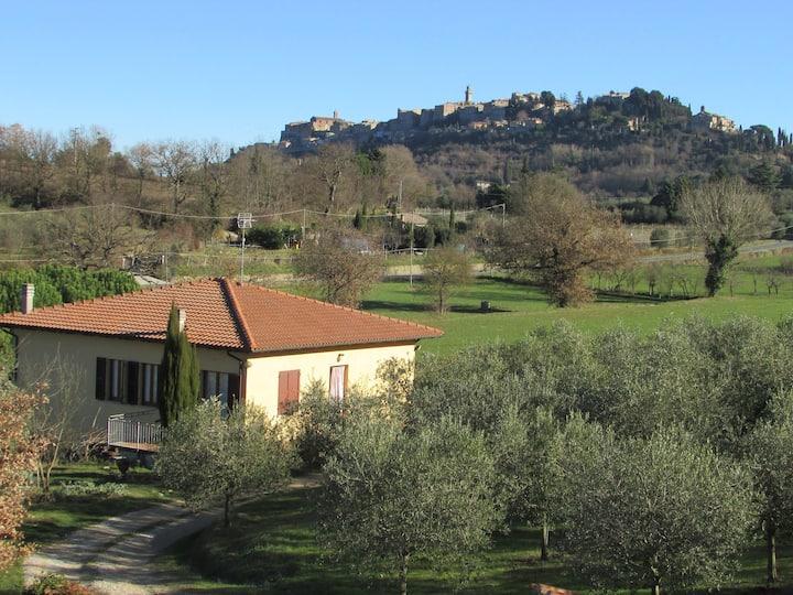 Casa in campagna ad 1,5 km da Montepulciano