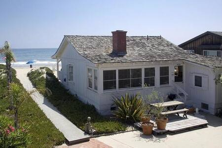 Cottage on the beach of Carpinteria, California - Carpinteria - Haus
