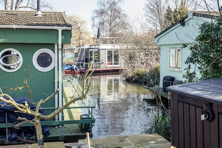 Taggs island houseboat - Boat