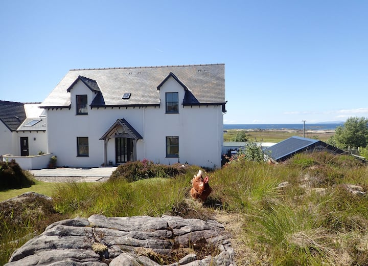 Sgiath House B&B Arisaig sea views