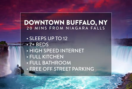 6 mins from DOWNTOWN, Sleeps 12+ - Buffalo - Rumah