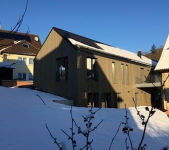 Dorfschmiede, (Hüttlingen), Apartment ESSE, 75qm, 2 Schlafzimmer, max. 4 Personen