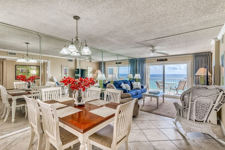 Regency Towers- #720 - 2 Bd 2 Ba - Gulf Front View - BEACH CHAIRS INCLUDED