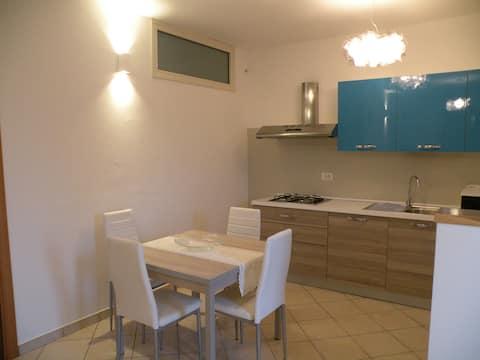 Appartamento piano terra, ingresso indipendente