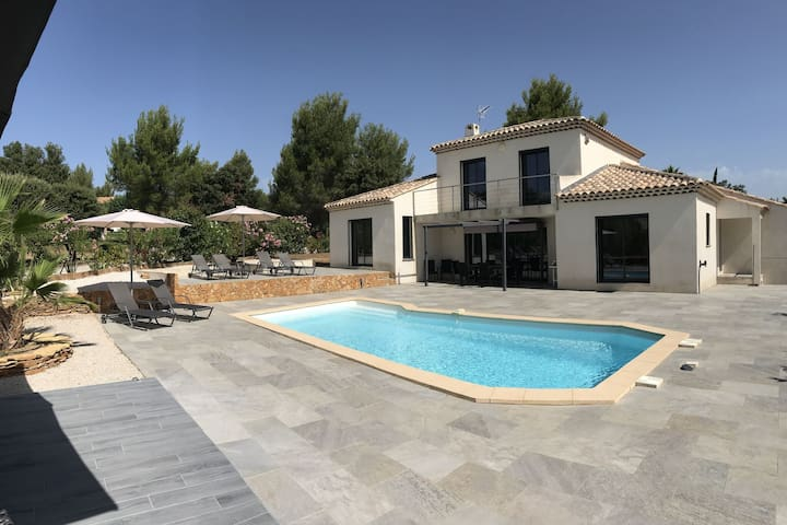 Seaside Villa in La Cadière-d'Azur with private Pool