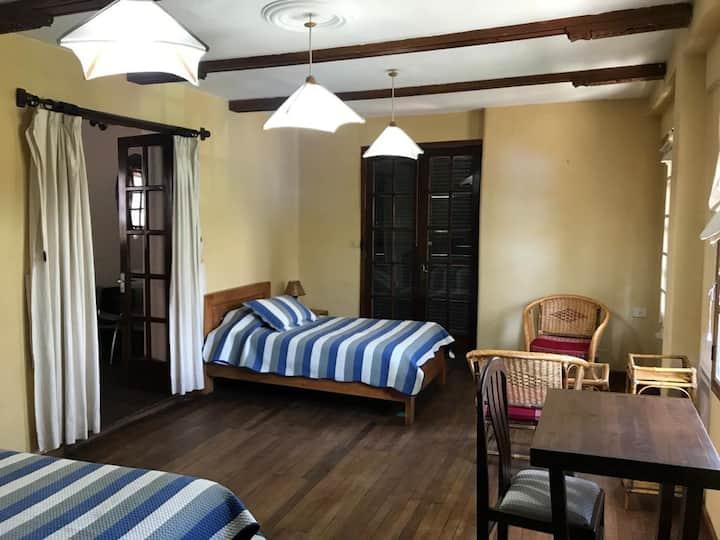 Habitación para dos en Casona colonial señorial