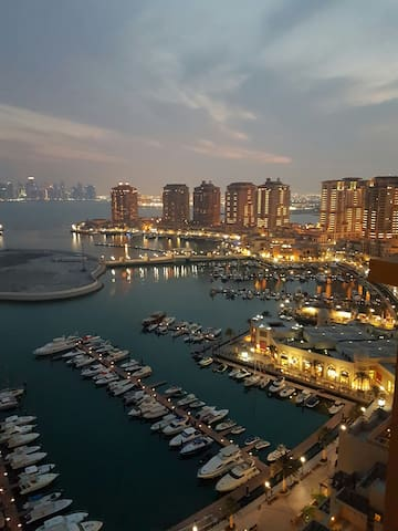 Breathtaking views of pearl qatar - Doha, QA - Apartment