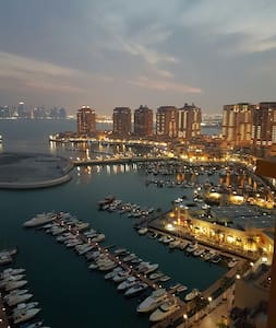 Breathtaking views of pearl qatar - Doha, QA - Byt