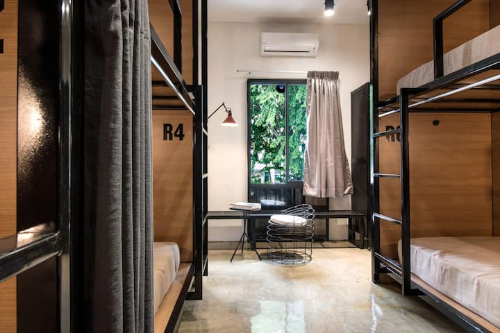 The Brownstone Hostel@ Ipoh- 1 Bed in 8 Mixed Dorm