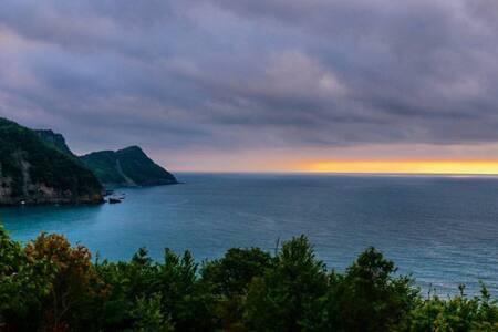 Karadenizde orman içinde, denize yakın tatil evi..