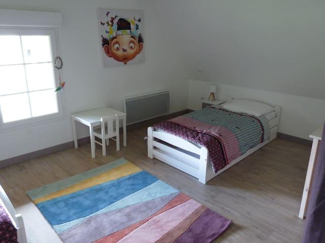 Chambre 4 : 4 lits
