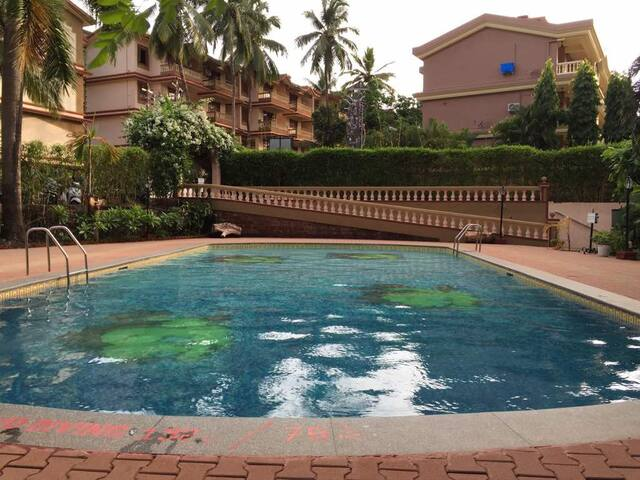 2bhk first floor close to beach