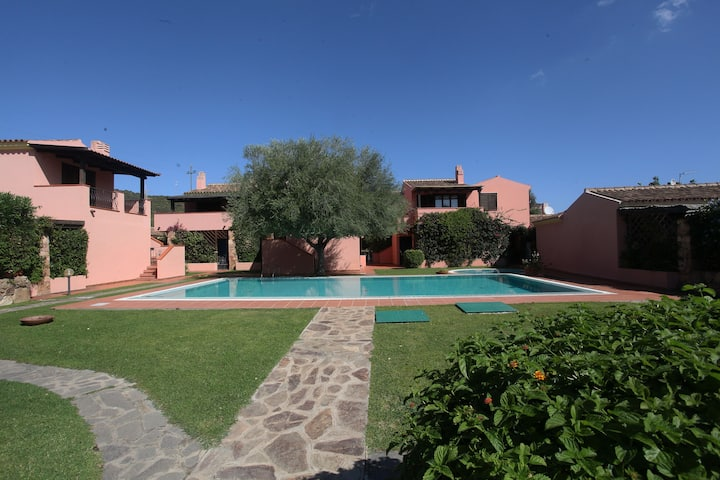 La verandina - Apartment with veranda and pool