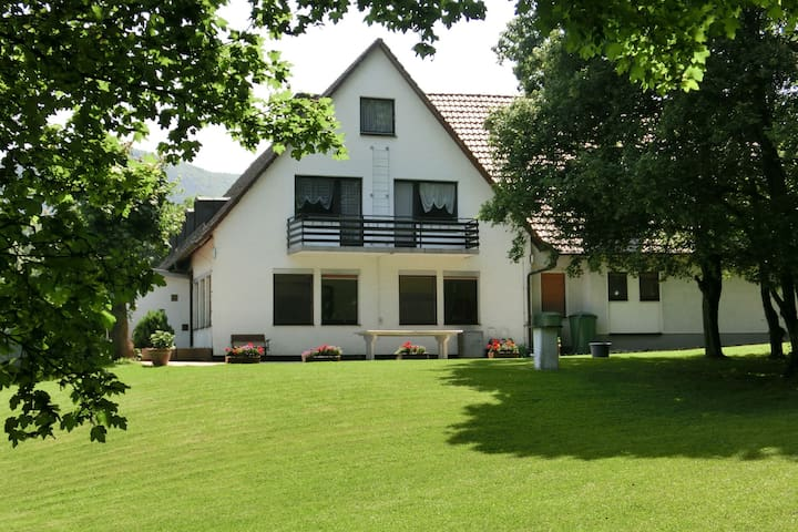 Very well equipped group home with large garden