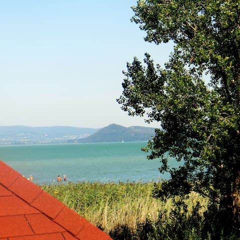 Beachhouse am Plattensee / Balaton mit Klimaanlage