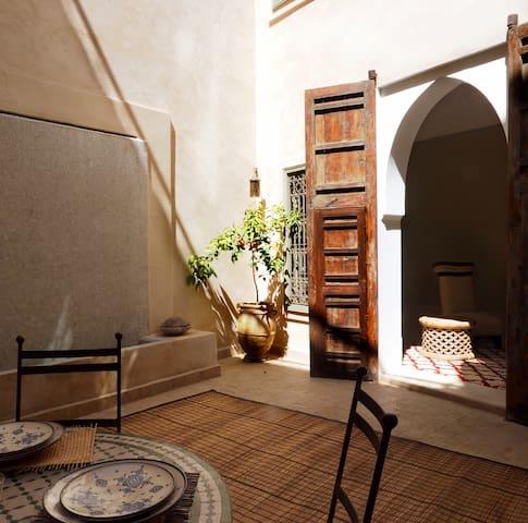 Riad de Charme dans la Medina de Marrakech