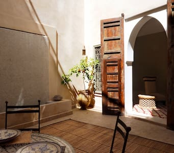 Your own Private Riad accommodation in the Medina