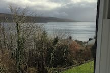 View from the living room south towards Bute