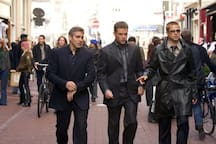George Clooney, Matt Damon & Brad Pitt Did'nt Hesitate To Pay Us A Visit! (And Shoot Ocean's 12 After) :-)