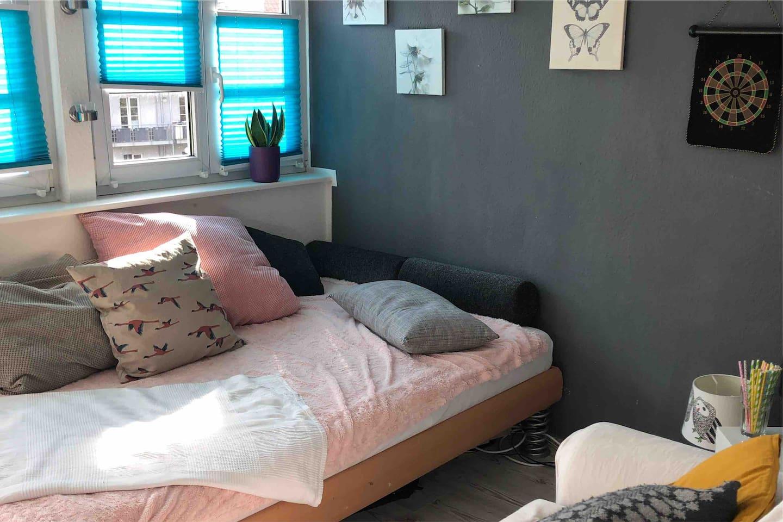 Das Bett :-)