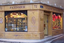 One of the Pernes patissiers (bakery, pastries and home made chocolates) - a couple of minutes walk from the cottage