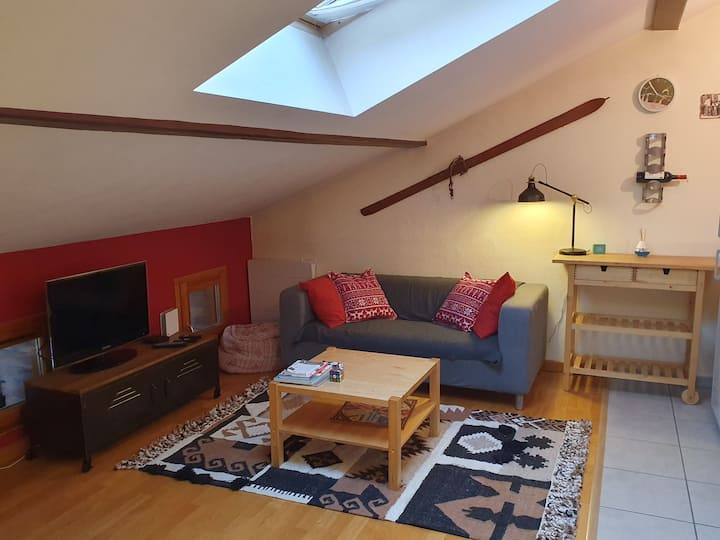 Appartement T2 cosy en plein centre de Font-Romeu