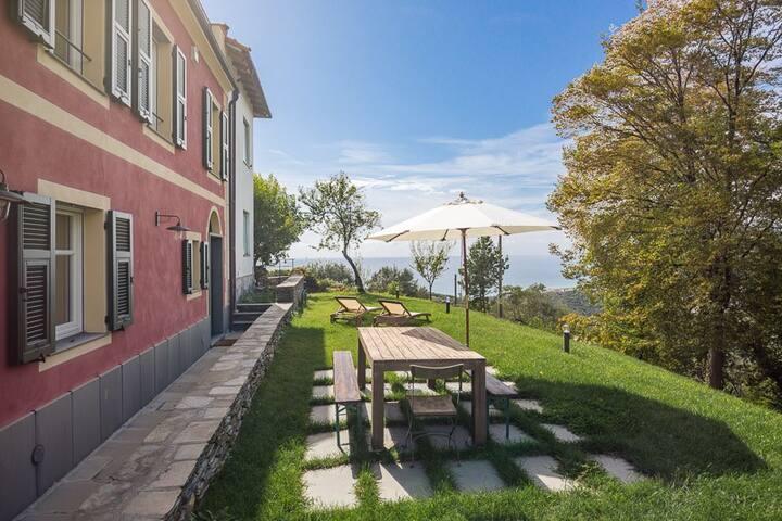 Casa indipendente vista mare - Lavagna