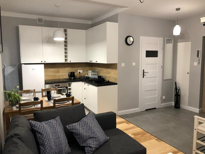 Cichy Apartament w Centrum