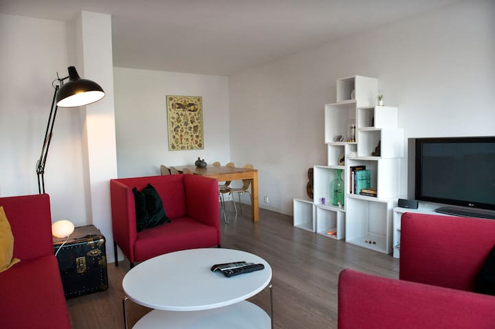 Big apartment, great area