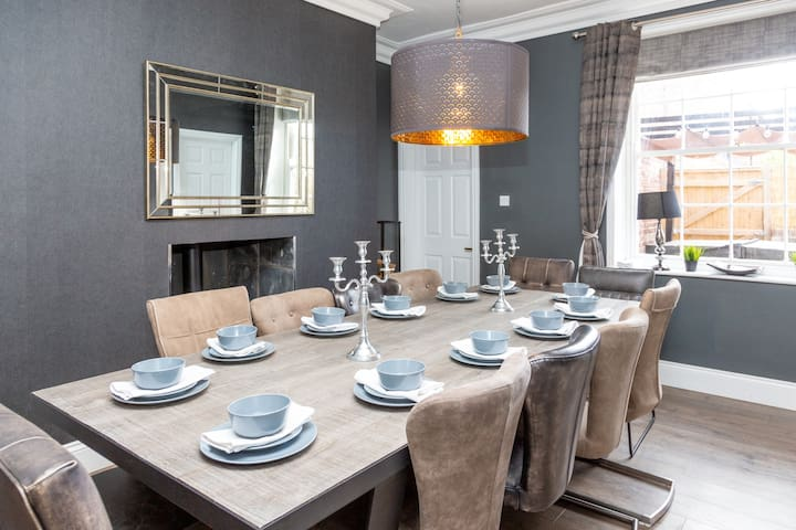 Dining Room with 12 Seater Table
