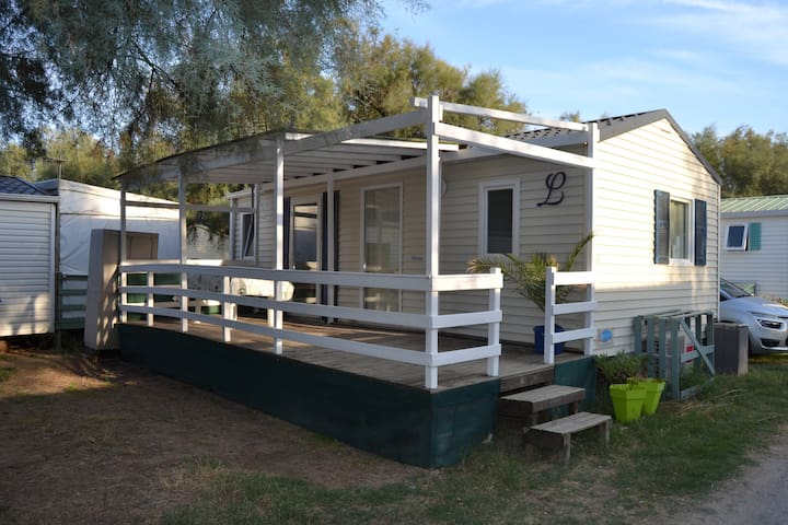 Mobil-Home 6pers/Camping calme Proche MONTPELLIER