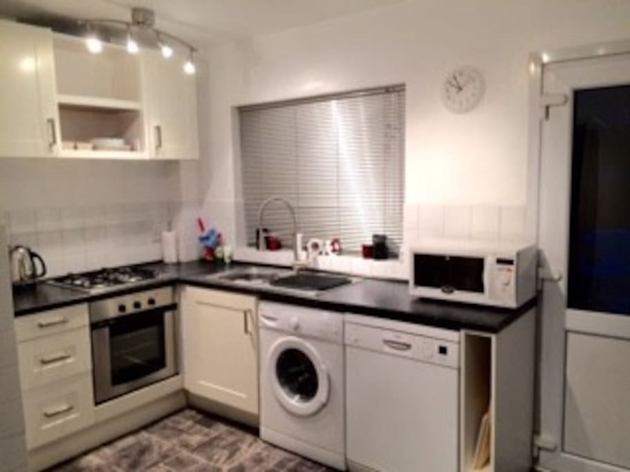 Fully equipped spacious dining Kitchen