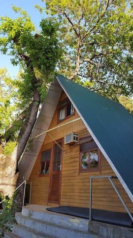 Отдельный домик для семейного отдыха.