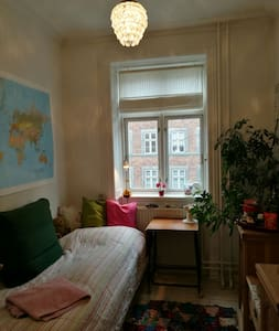 Cosy small room for rent:-) - Copenhague - Appartement