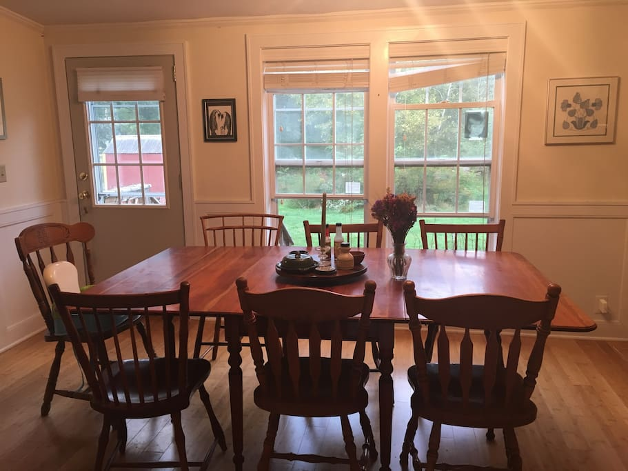 Quaint country home in richmond vt houses for rent in richmond vermont united states - Kitchen table richmond vt ...