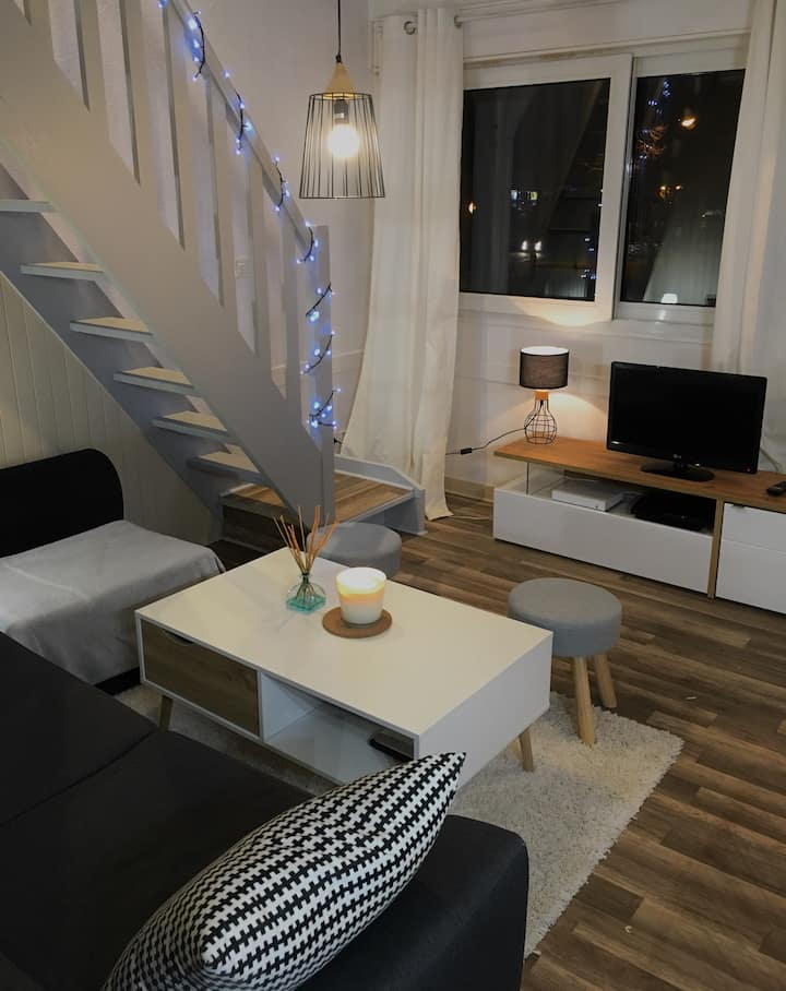 | Appartement Chaleureux et Agréable à St-Malo |
