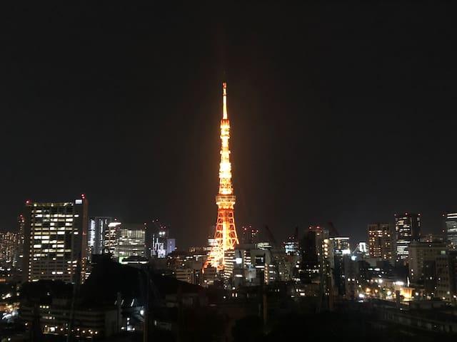 オリンピック開催地域☆六本木の目覚めのいい部屋♪R.NO5E