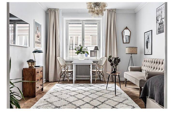 Cosy apartment on Mariaberget. Close to everything