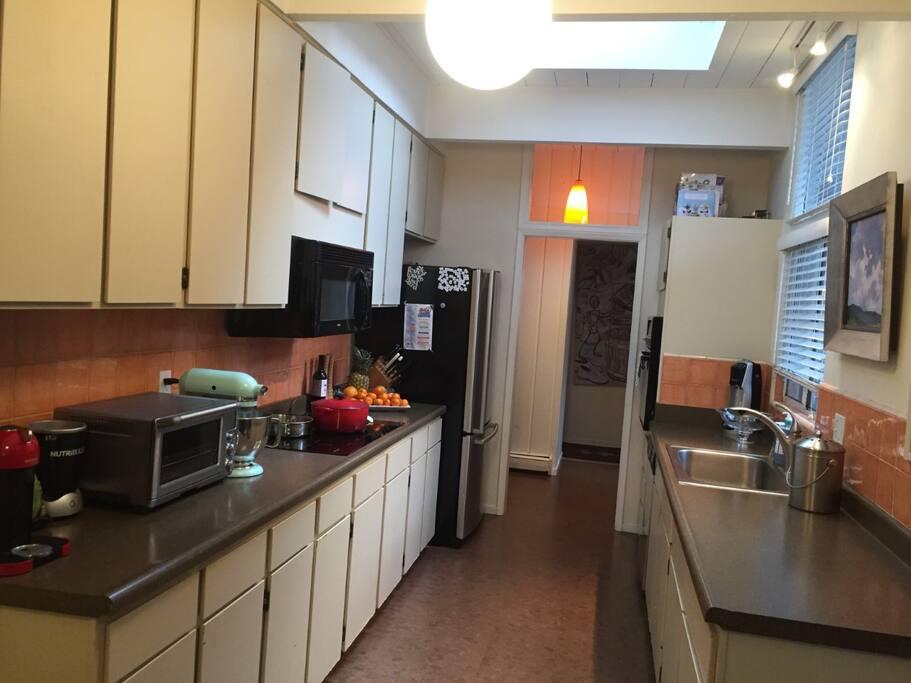 kitchen- looking west