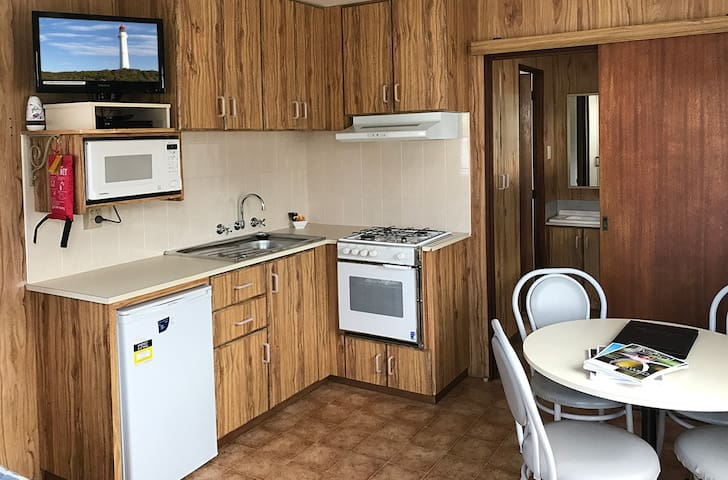 Kitchenette - stoves not available in all rooms