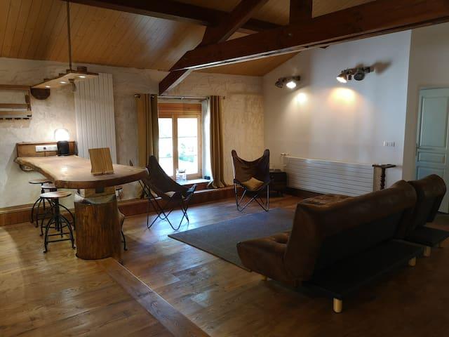 Le studio vintage  de Coumanis