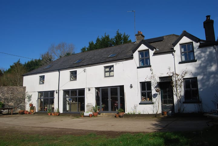 Pet friendly converted coach house in Delgany