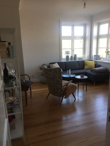 Helle Wohnung nahe Stadtpark