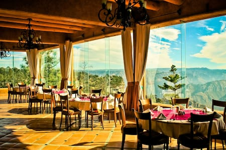 HOTEL MIRADOR/ BARRANCAS DEL COBRE 3 ALIMNTS INCLD